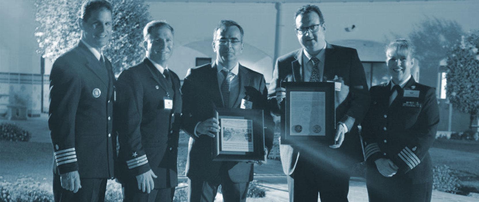 Reconocimiento Marina de Rota al hospital HLA Jerez Puerta del Sur