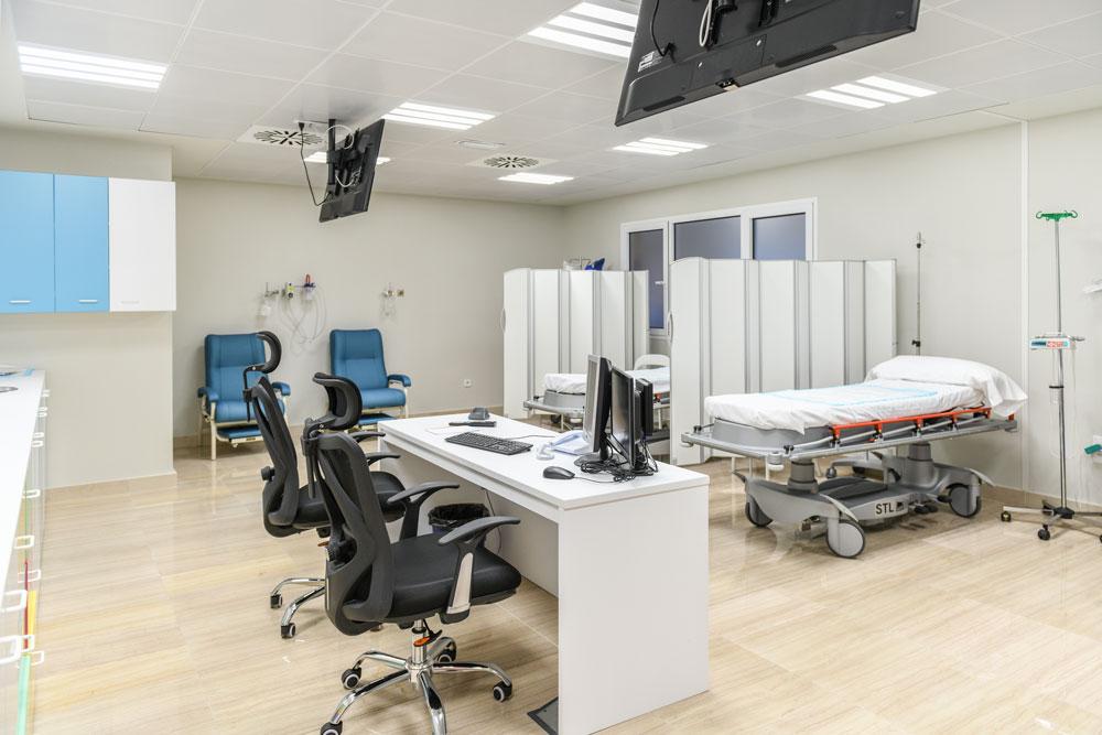 Nuevas instalaciones de Pediatría del hospital HLA Universitario Moncloa