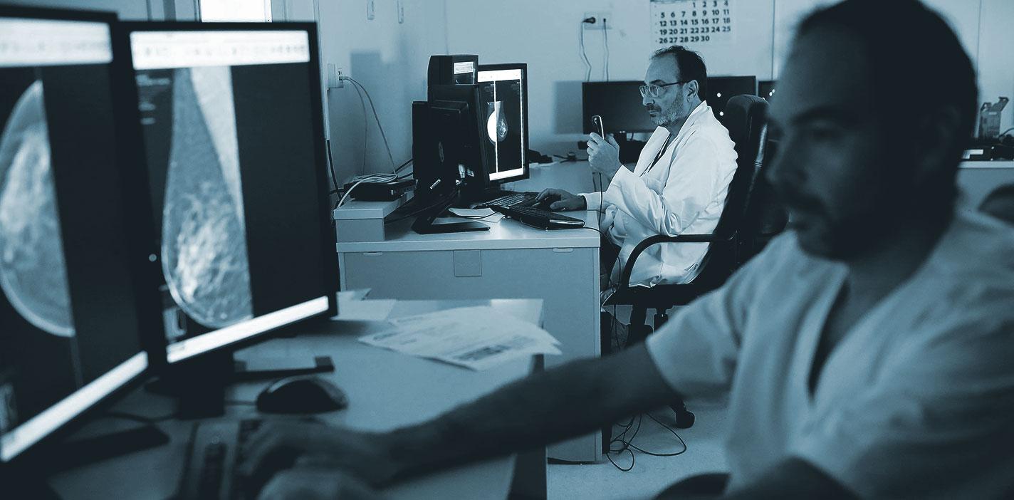 El mamógrafo más moderno de Cádiz está en hospital HLA Jerez Puerta del Sur.