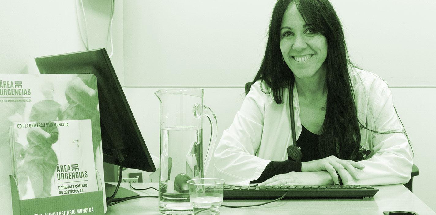 Cristina Barreiro, especialista del Servicio de Urgencias de Hospital HLA Universitario Moncloa