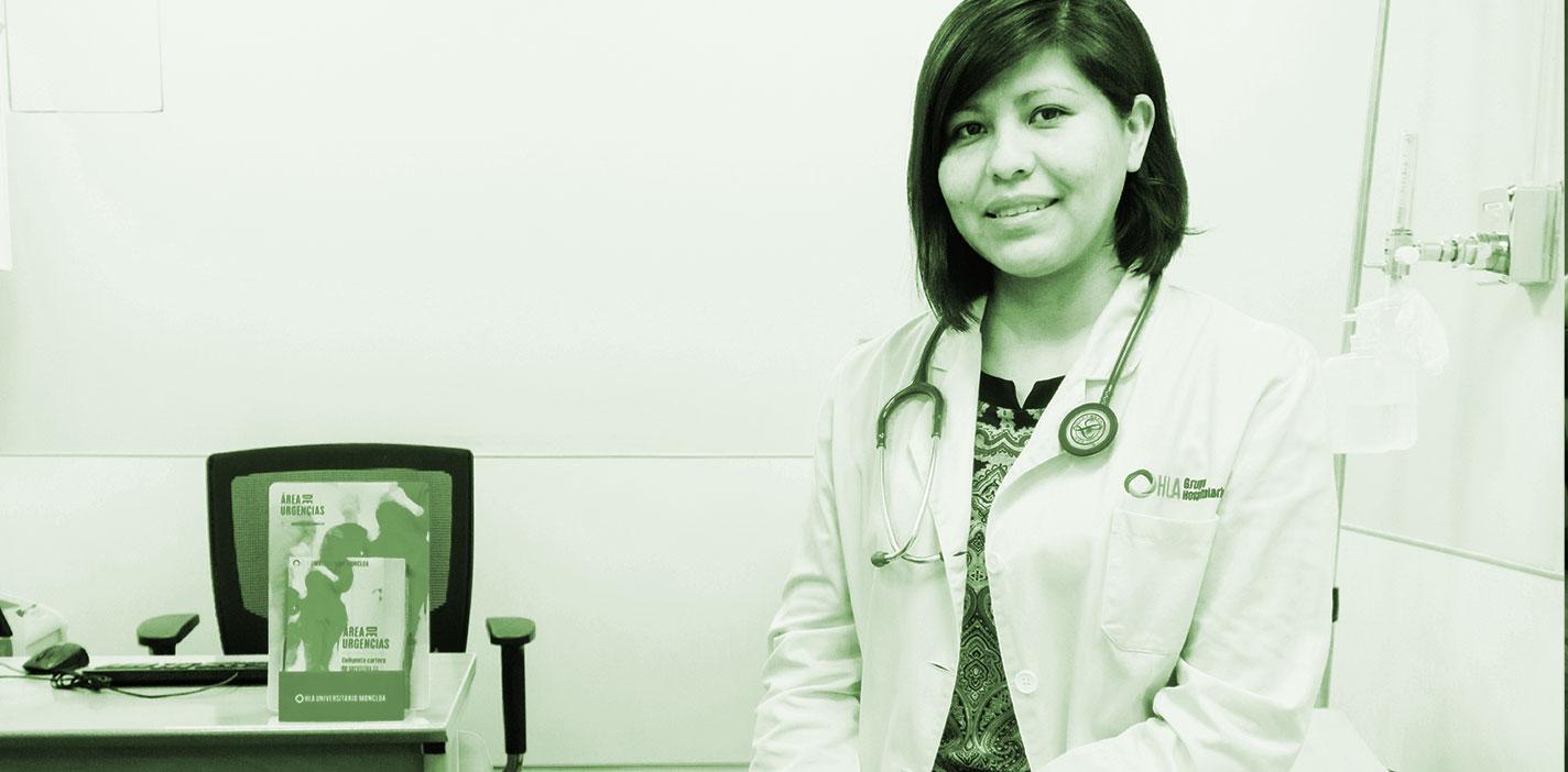 Jéssica Avilés Vargas, médico del Servicio de Urgencias del hospital HLA Universitario Moncloa.