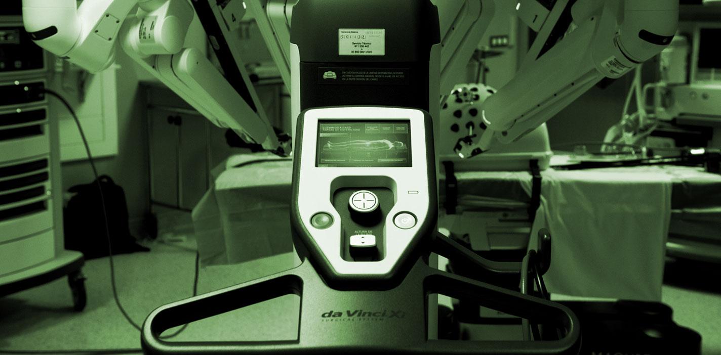 El sistema da Vinci abre un nuevo campo en cirugía de cabeza y cuello mínimamente invasiva. HLA Universitario Moncloa