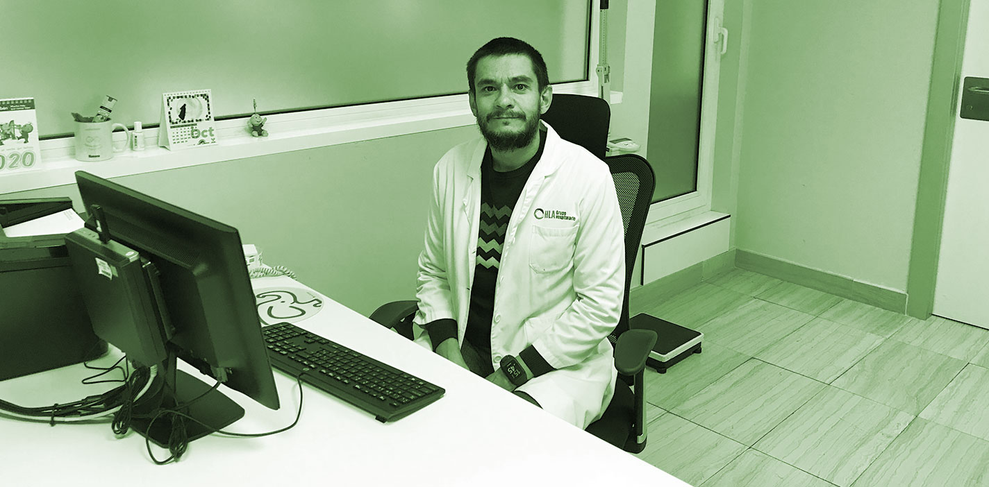 Gripe y niños. Dr. Rafael Montero, pediatra del hospital HLA Universitario Moncloa