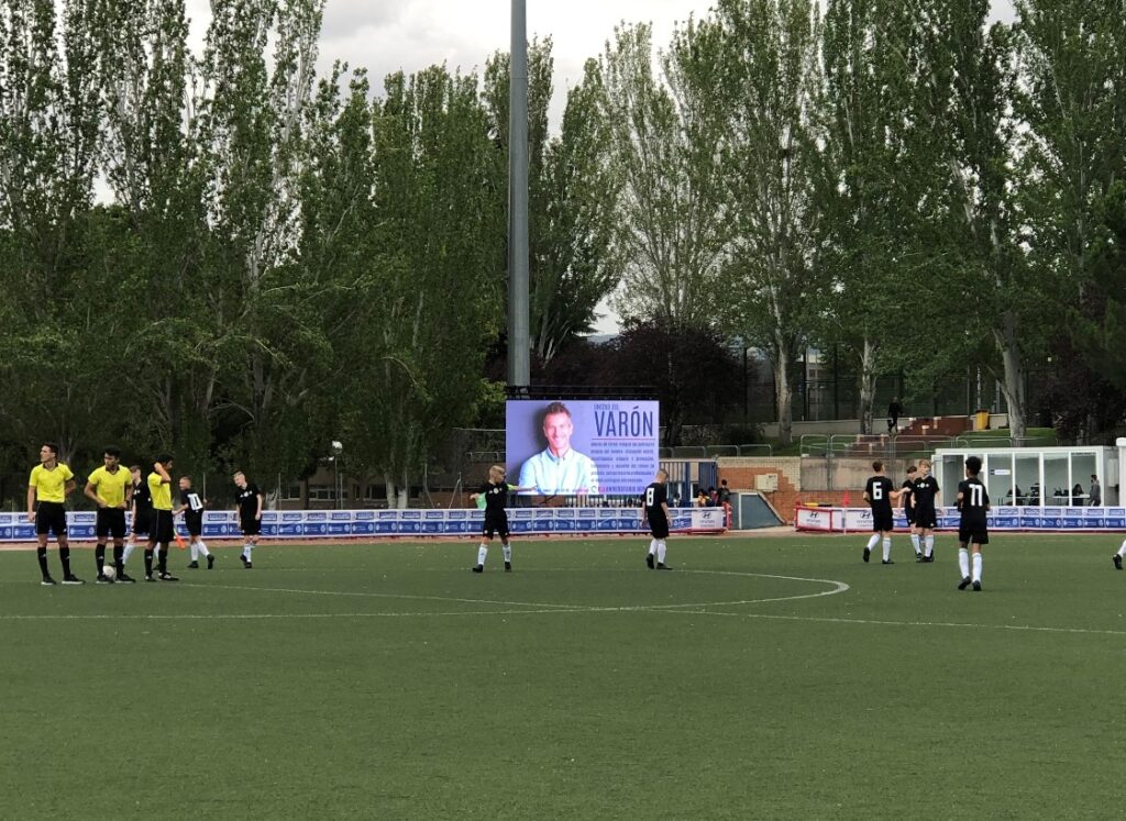 Patrocinio torneo de futbol del hospital HLA Universitario Moncloa