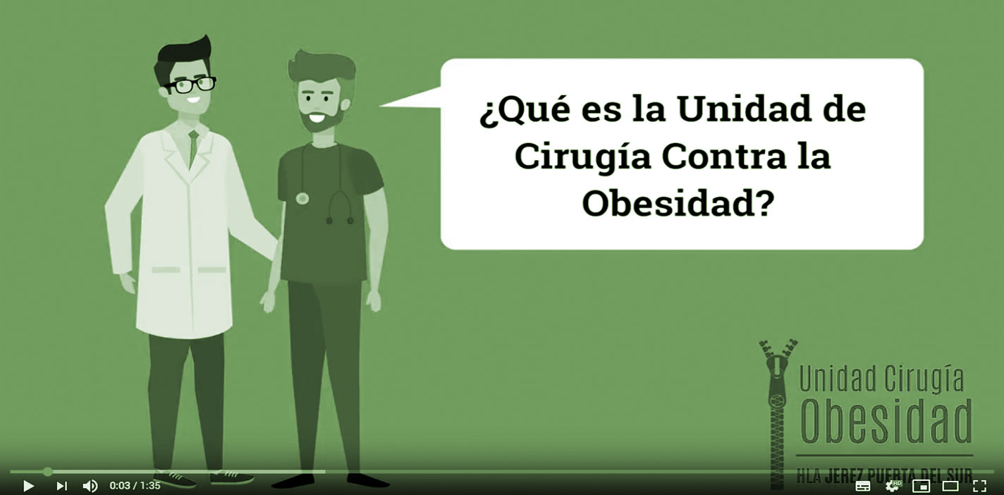 canal YouTube Unidad de Cirugía contra la Obesidad