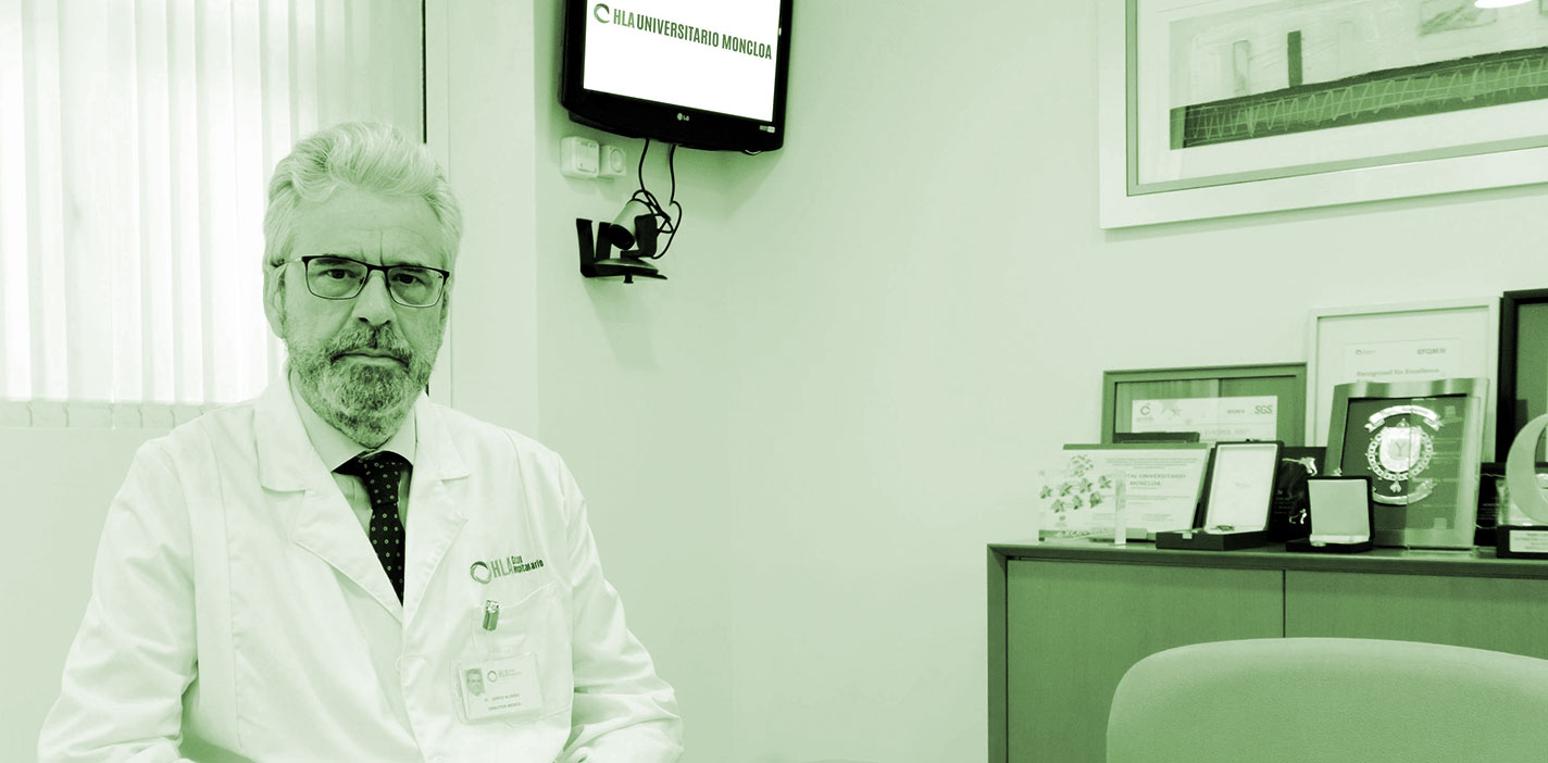 Dr. Carlos Zarco, director médico del Hospital HLA Moncloa