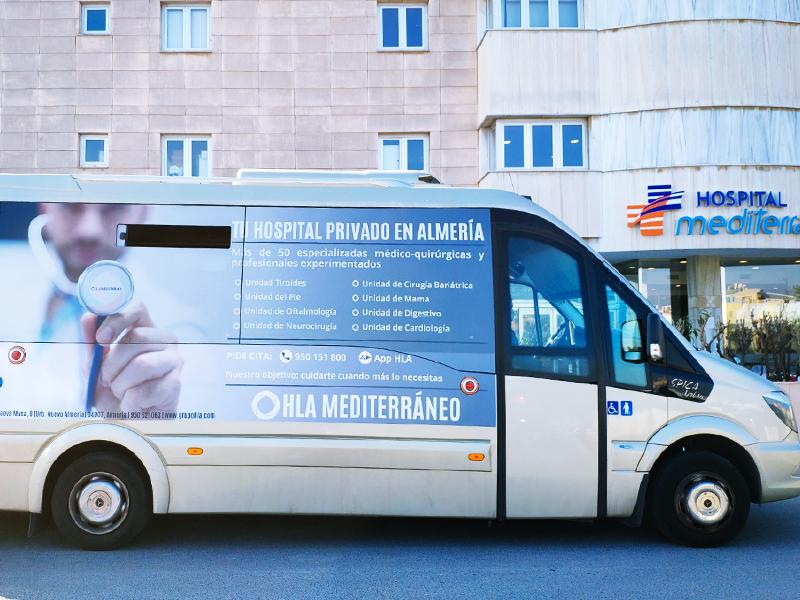 Diseño autobús Almeria