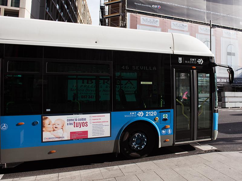 Diseño autobús Moncloa