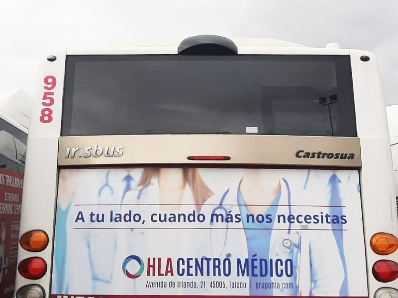Diseño autobús Toledo